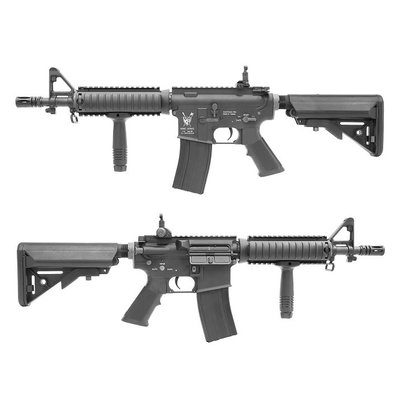 華山玩具 King Arms M4 CQB AEG步槍 Mosfet Advance 黑色