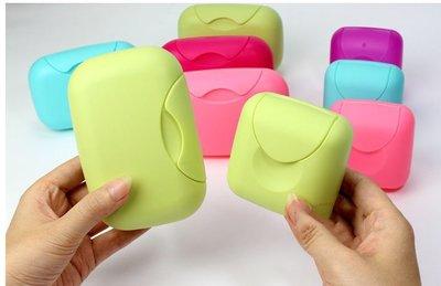 帶扣防漏肥皂盒 糖果色旅行肥皂盒 出國旅行必備 肥皂塑料盒 衛浴小物 肥皂盒 瀝水盒 置物盒 密封 防水 便攜 卡扣