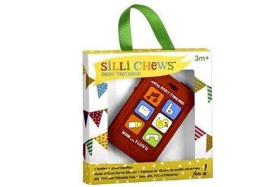 【魔法世界】美國 Silli Chews 手機造型咬牙器/固齒器 SC-7