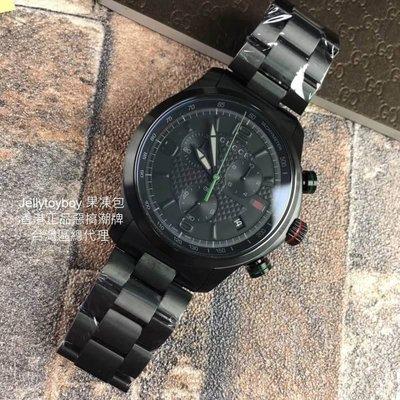 全新專櫃正品GUCCI YA126244 G-Timeless Mens Discount Watch GG 金屬錶帶款