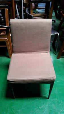 宏品2手家具店 F159*咖啡色布餐椅...
