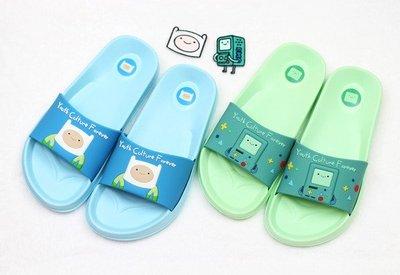 ♀高麗妹♀韓國 Adventure Time 《探險活寶》嗶莫 阿寶 EVA居家拖鞋/室內鞋/沙灘鞋(預購)