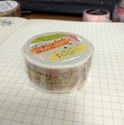 【R的雜貨舖】紙膠帶分裝 非整捲 韓國原創 kamito 系列 和紙膠帶 - 附箋 sticky