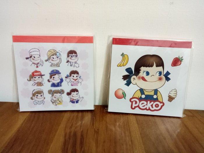 天使熊雜貨小舖~日本peko×ITSDEMO聯名系列~牛奶妹便條紙  現貨2款  全新現貨