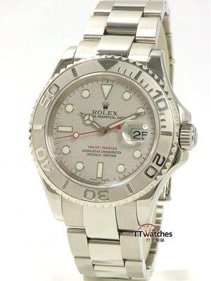 *台北腕錶* Rolex 勞力士 Yacht Master 16622 遊艇 台灣保單 186795
