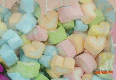 【吉嘉食品】悅情 彩心棉花糖 每包1公斤[#1]