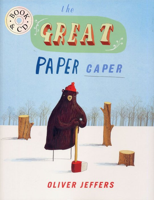 *小貝比的家*GREAT PAPER CAPER /平裝書+CD (森林大奇案)科學/社會/環境/ /3~6歲