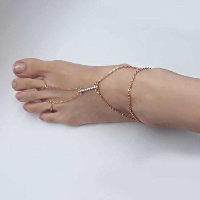 現貨 造型腳鍊