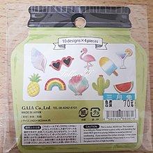 *FollowV*日本文具《現貨》繽紛美味水果/冰棒/西瓜/彩虹/ 草莓/橘子 和紙素材 手帳裝飾/貼紙 連線