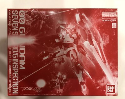 魂限MG 00 Gundam Seven Swords/G Inspection 七劍紅版