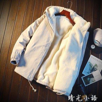 2018新款男士連帽棉衣韓版潮流寬鬆帥氣加厚冬季棉服棉襖外套男