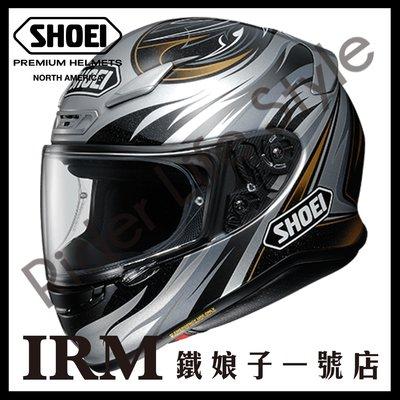 【鐵娘子一號店】代訂 日本 SHOEI Z-7 彩繪 INCISION TC-5 黑銀 全罩 安全帽 小帽體
