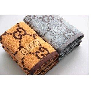 【毛巾】純棉加厚加大素色灰色橘色浴巾