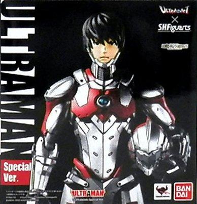 日本正版 萬代 ULTRA-ACT SHF 超人力霸王 ULTRAMAN Special ver 模型 公仔 日本代購