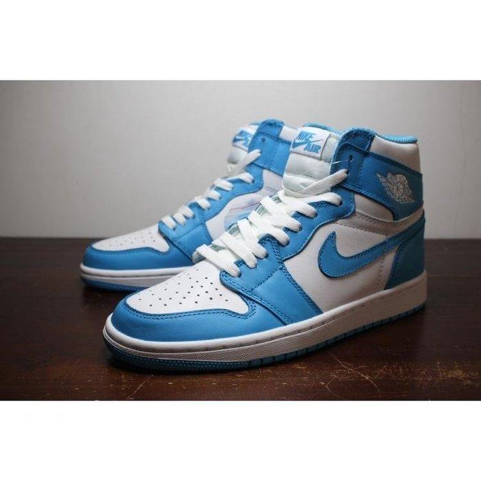 Nike Air Jordan 1 Retro High OG UNC 北卡藍 天空藍 元年 男女鞋