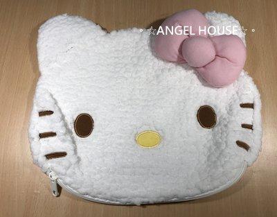 。☆ANGEL HOUSE☆。日本進口**hello kitty**雲朵綿綿頭型抱枕套009