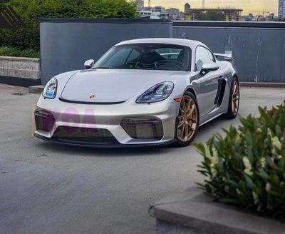 諾亞 保時捷 Porsche 718 改装 賽道版 1:1 GT4 前保桿 後下巴 尾翼 大包圍