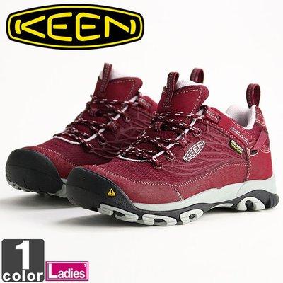 =CodE= KEEN SALTZMAN WP 防水皮革戶外登山鞋(酒紅)1014520 靴子 WATERPROOF 女