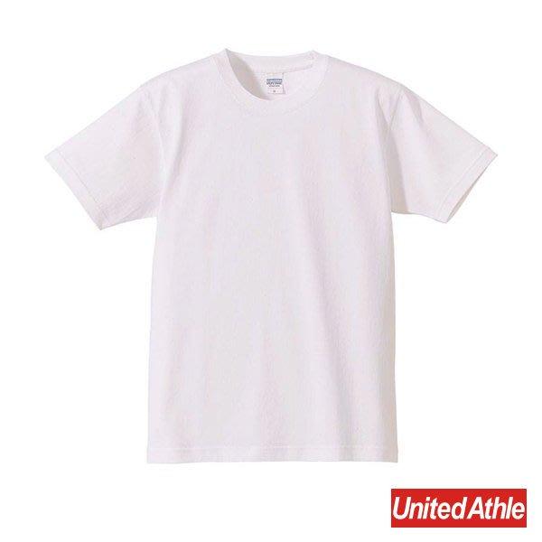 『United Athle』4252-01 7.1oz T- Shirt 重磅 厚質 素面 圓領 短袖 白色