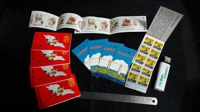 銘馨易拍重生網 106SPT4 早期  吉祥及燈塔郵票小冊(燈塔80年版×5.吉祥81年版×5)保存如圖 特價讓藏