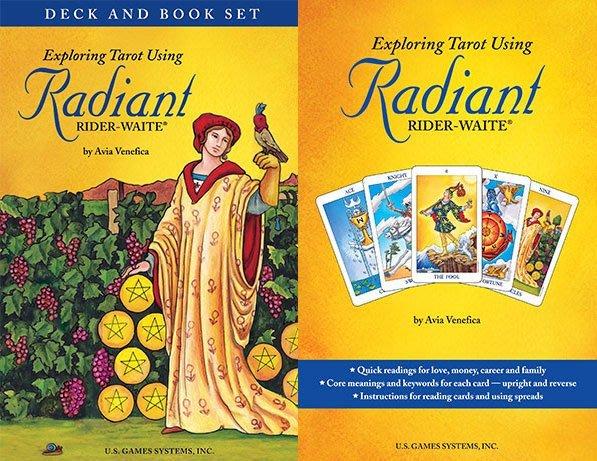 【牌的世界】粉彩萊德偉特精裝版塔羅牌Radiant Rider-Waite Tarot (78張)書+牌