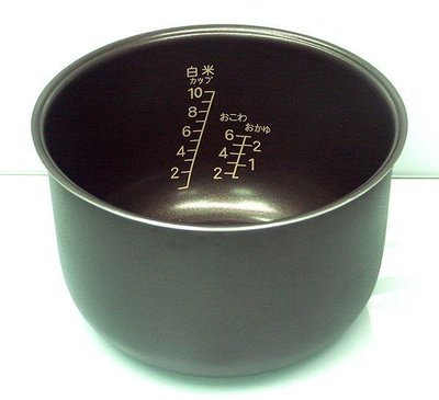 10人份 黑金剛球型厚釜內鍋