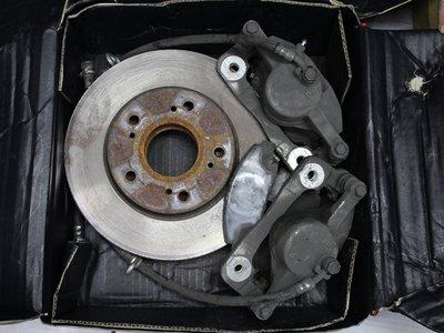 ~三重長鑫車業~HONDA 原廠 喜美八代 中古前卡鉗 含來令片 狀況正常 沒有整理過 K12