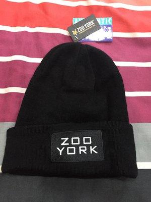 Zoo York 黑色厚毛帽 全新(購於澳洲)