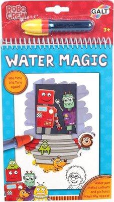 【三元】英國 GALT Water Magic 神奇水畫冊~機器人