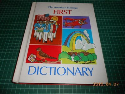 ~The American Heritage FIRST DICTIONARY~七成新 精裝本~CS超聖文化2讚~
