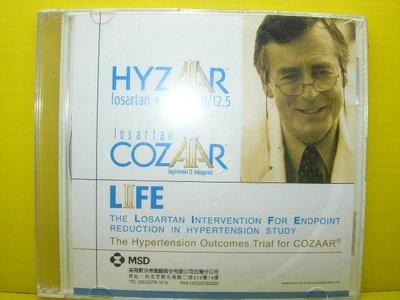 【【博流挖寶館】】光碟CD HYZAAR LOSARTAN + HCTZ 50/12.5 COZAAR 美商默沙藥廠