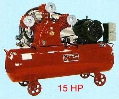 ╭☆優質五金☆╮寶馬 全自動皮帶式空壓機附15HP三相馬達-304L