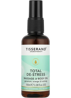 英國天然香氛品牌 TISSERAND 全然紓壓身體按摩油 (Total De-Stress) 100ml