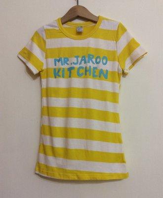 媽媽咪呀~Mamma Mia韓國童裝!過季零碼出清!黃白條紋洋裝