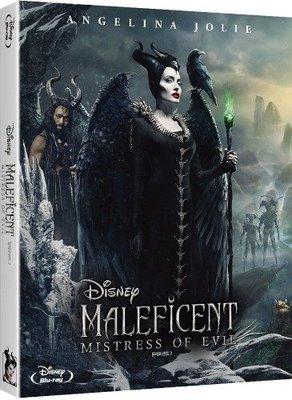 毛毛小舖--藍光BD 黑魔女2 韓國外紙套限量版(中文字幕) Maleficent 2