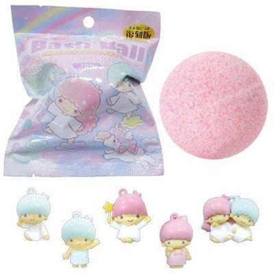 【三元】日本 泡澡球 沐浴球 入浴劑 泡泡球 - 雙子星 內有隨機玩具公仔