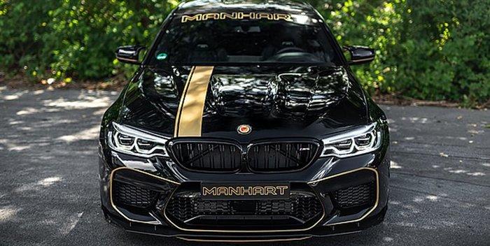 【樂駒】Manhart BMW F90 M5 德國 改裝 大廠全車 車身 外觀 貼紙 套裝 引擎蓋 側裙 保桿