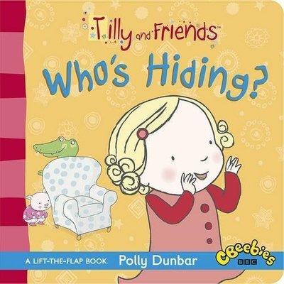 *小P書樂園* Tilly and Friends: Who's Hiding?硬頁書