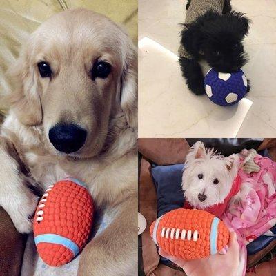 【安安精品】狗狗發聲玩具球磨牙耐咬寵物用品SMYA/A146