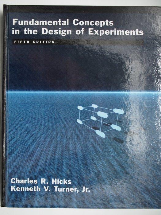 Fundamental Concepts in the Design of Experiments 〖大學理工醫〗AJT