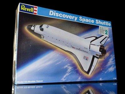 A 櫃 上:1 /144 REVELL 發現號太空梭 DISCOVER SPACE SHUTTLE 天富玩具店