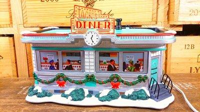 著名的JACK'S DINER餐館夜燈:JACK'S DINER 餐館 美食 夜燈 家飾 居家 裝潢 擺飾 設計 收藏