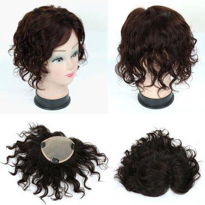 全手織 內網約15X13公分 髮長約20公分 可任意分邊 補髮塊 女仕100%真髮【RT35】☆雙兒網☆