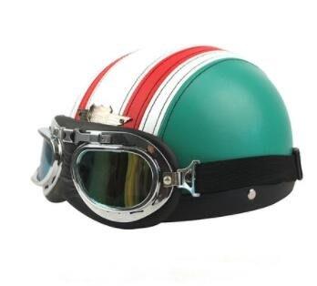 電動摩托車頭盔電動車男女半盔頭盔zg
