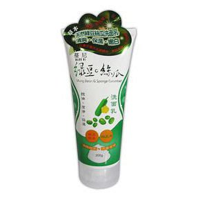 MANNI NI 綠豆絲瓜洗面乳 200g