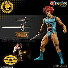 Mezco Toyz Exclusive 虎威戰士 Thundercats Classic 李安奴 Lion-O Mega-Scale Figure 全新未開封