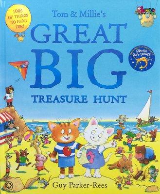 [邦森外文書] Tom and Millie's Great Big Treasure Hunt 一起尋寶探險去精裝本
