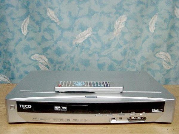 【小劉二手家電】TECO  DVD錄放影機,TD2028VR型,附萬用遙控器,壞機也可修/抵!