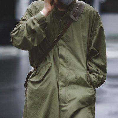 拓荒者革製所。美式軍事風衣復古M51魚尾風衣oversized長版軍版軍綠色大衣外套男 彰化縣
