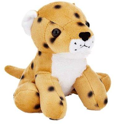 14714c 日本進口  好品質 限量品 可愛柔順 獵豹花豹 動物娃娃抱枕絨毛絨玩偶娃娃擺設玩具禮品禮物